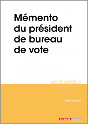 Mémento du président de bureau de vote