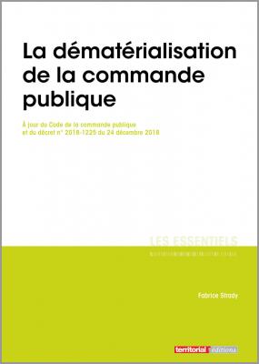 La dématérialisation de la commande publique