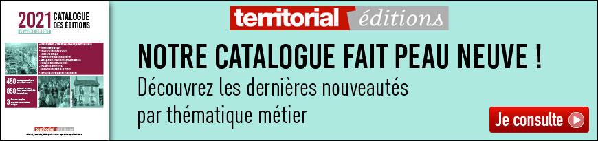 Territorial - Bannière Catalogue Editions 2ème Semestre